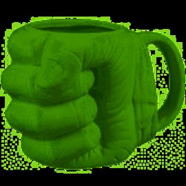 Rocket Fizz Lancaster's Marvel Hulk Fist Sculpted Mug