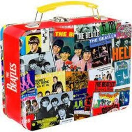 Rocket Fizz Lancaster's The Beatles Singles Collection Large Tin Tote