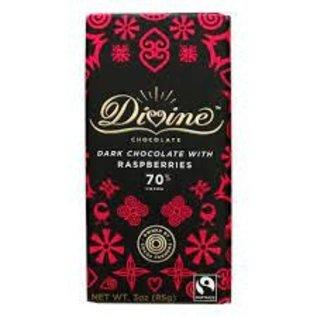 Rocket Fizz Lancaster's Divine Chocolate Dark Chocolate, with Raspberries