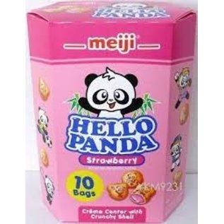 Rocket Fizz Lancaster's Meiji Hello Panda Family Pack Cookies, Strawberry, 9.1 oz