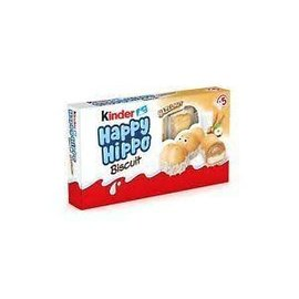 Ferrero USA Kinder Happy Hippo Hazelnut Biscuits