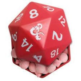 Boston America Corp Dungeons and Dragons D20 Potion Candy