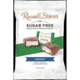 Rocket Fizz Lancaster's Russell Stover Sugar Free Coconut with Stevia, 3 oz. Bag