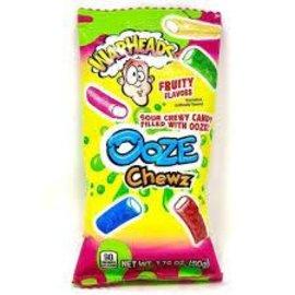 Impact Confections Warheads Ooze Chewz Bag