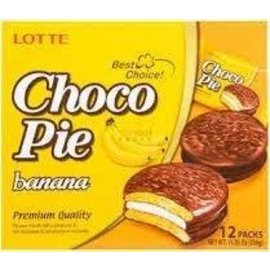 Asian Food Grocer Lotte choco pie banana