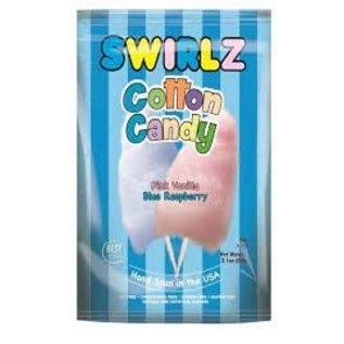 Rocket Fizz Lancaster's Cotton Candy Swirlz Peg Bag Large Buttered Popcorn