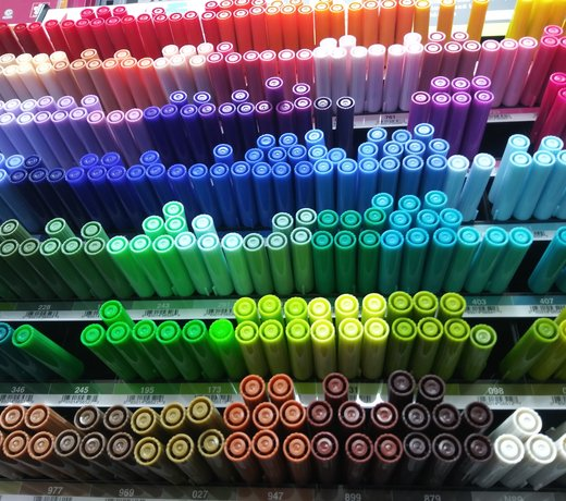 Pens and Markers