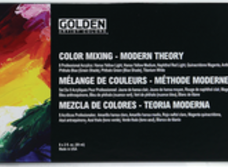 GOLDEN MODERN THEORY COLOR MIXING SET