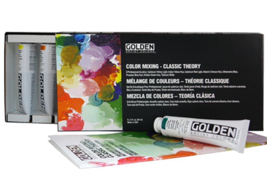 GOLDEN CLASSIC THEORY COLOR MIXING SET