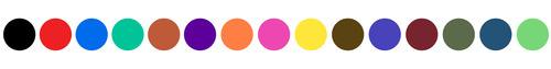 Micron color chart