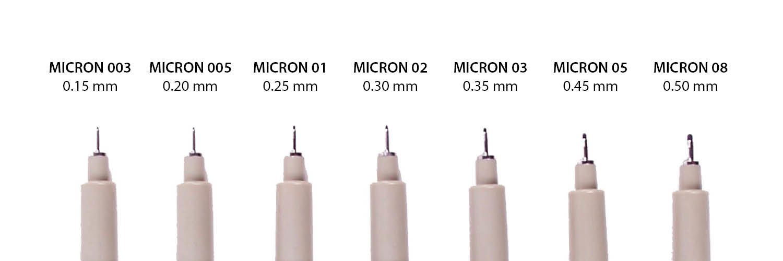 Micron Nibs