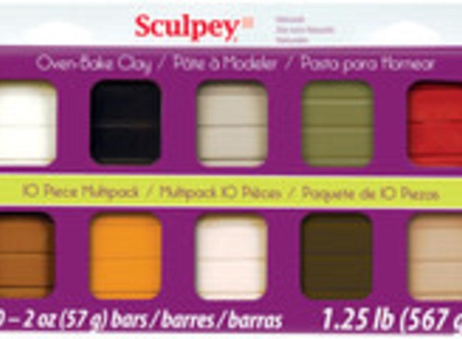 SCULPY III MULTI-PAK NATURALS
