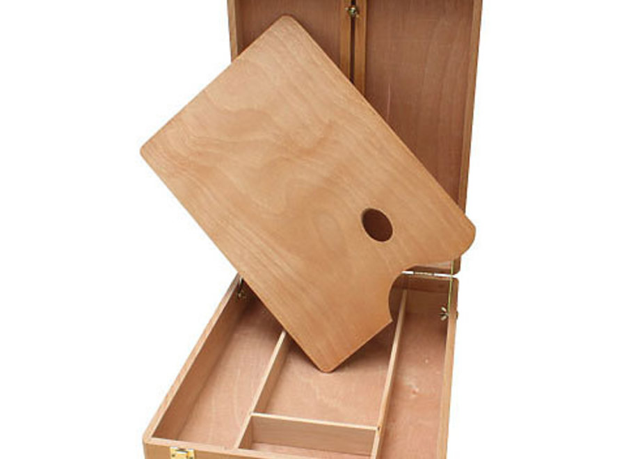 MERCED TABLE SKETCH BOX EASEL, All Wood Construction, 13w x 18lx 4h