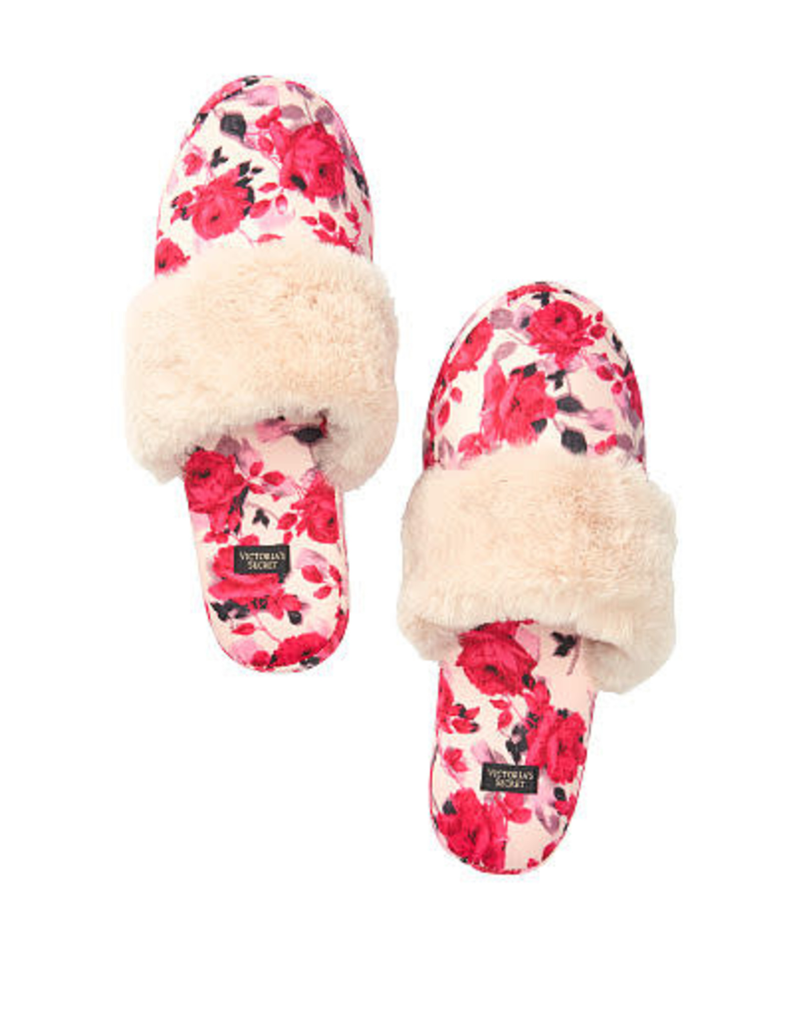 Victoria's Secret Victoria's Secret Signature Satin Slippers