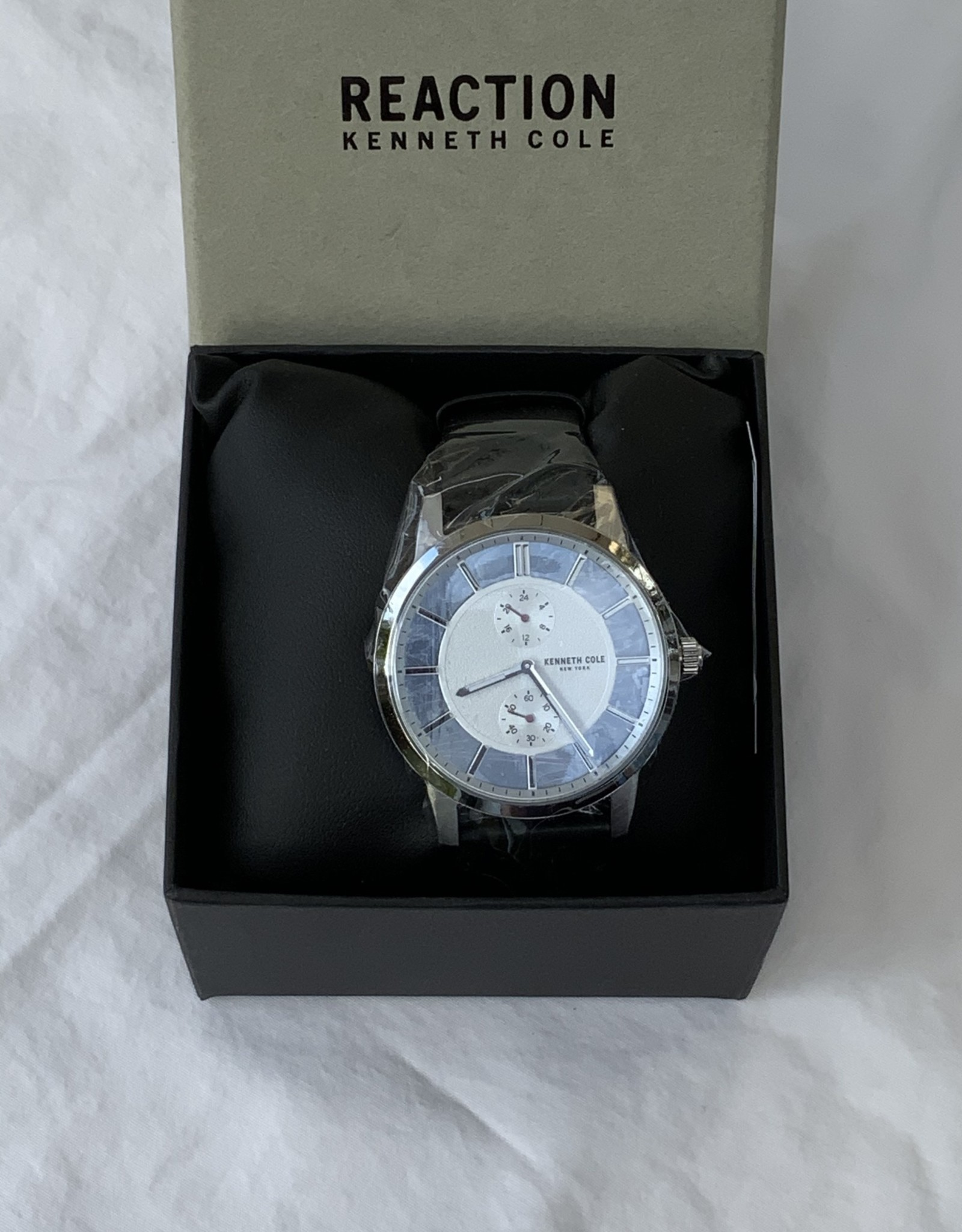 Kenneth Cole Reaction Kenneth Cole Reaction Men's Leather Watch