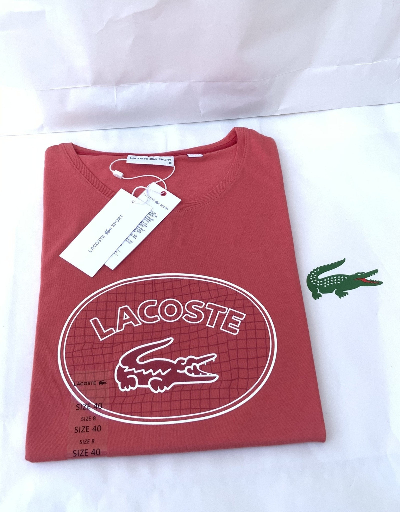 Lacoste Lacoste T-Shirt Women's Sport Crew Neck Graphic Logo
