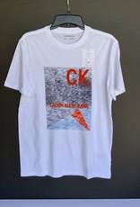 Calvin Klein Calvin Klein Tee w/ Courtside CK Logo