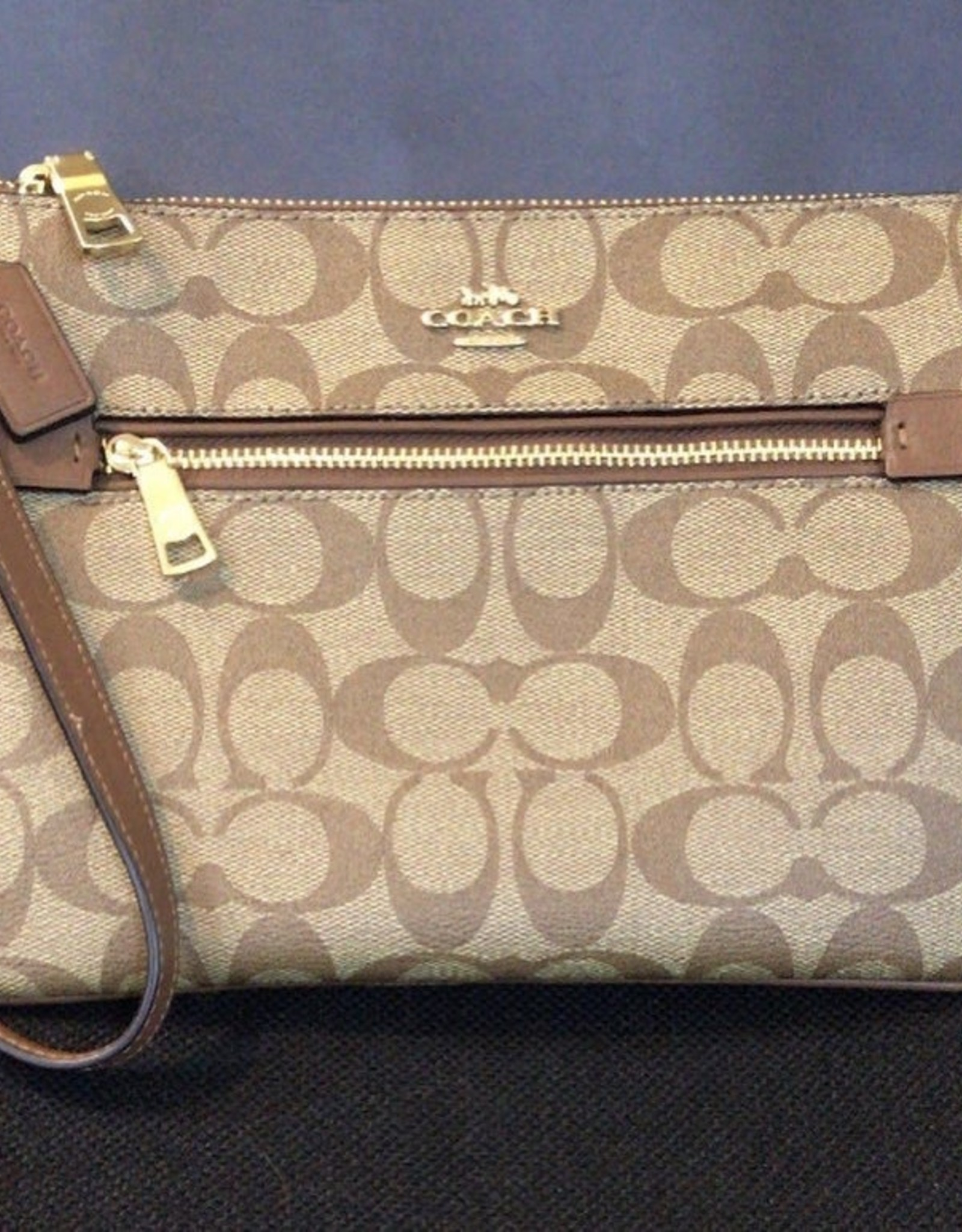 Coach Coach Gallery Pouch in Signature Canvas