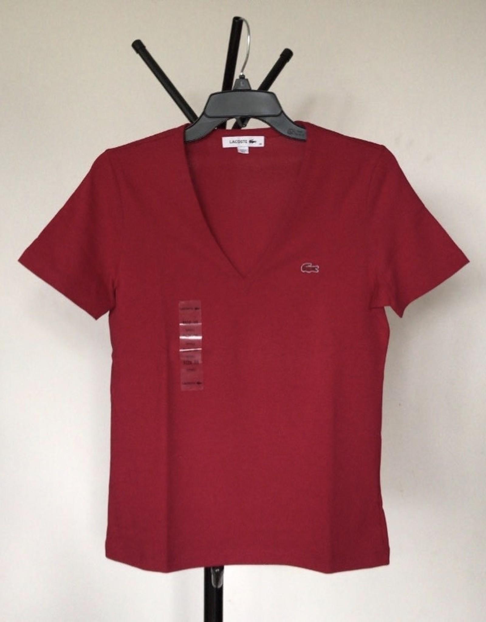Lacoste Lacoste T-Shirt V-Neck 100%  Cotton