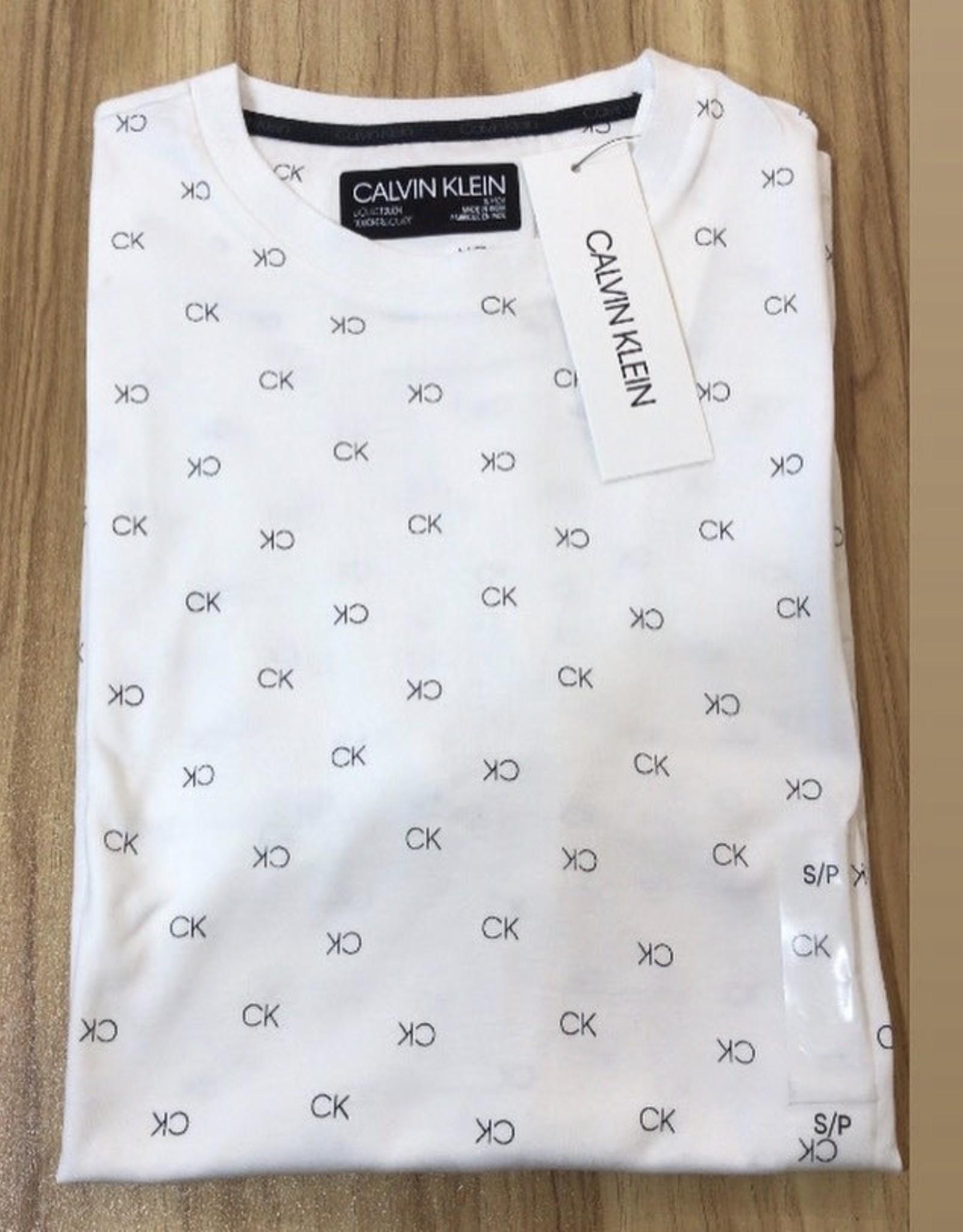 Calvin Klein Calvin Klein Casual Print Crew Tees