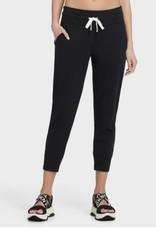 DKNY DKNY Jogger Cropped w/ Rib Cuff & Front Pockets