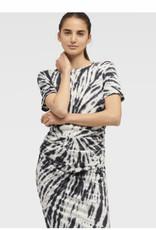 DKNY DKNY T-Shirt Dress Ruched Waist Tie Dye