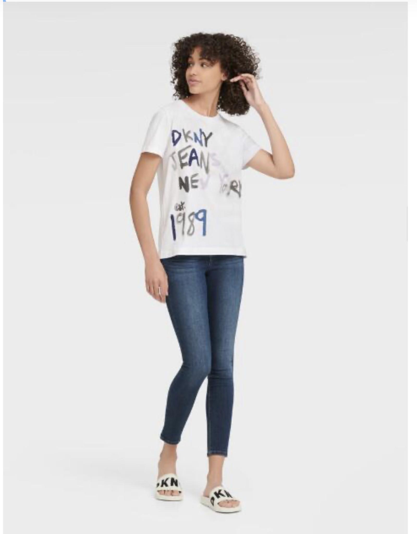 DKNY DKNY Tees Painted Logo