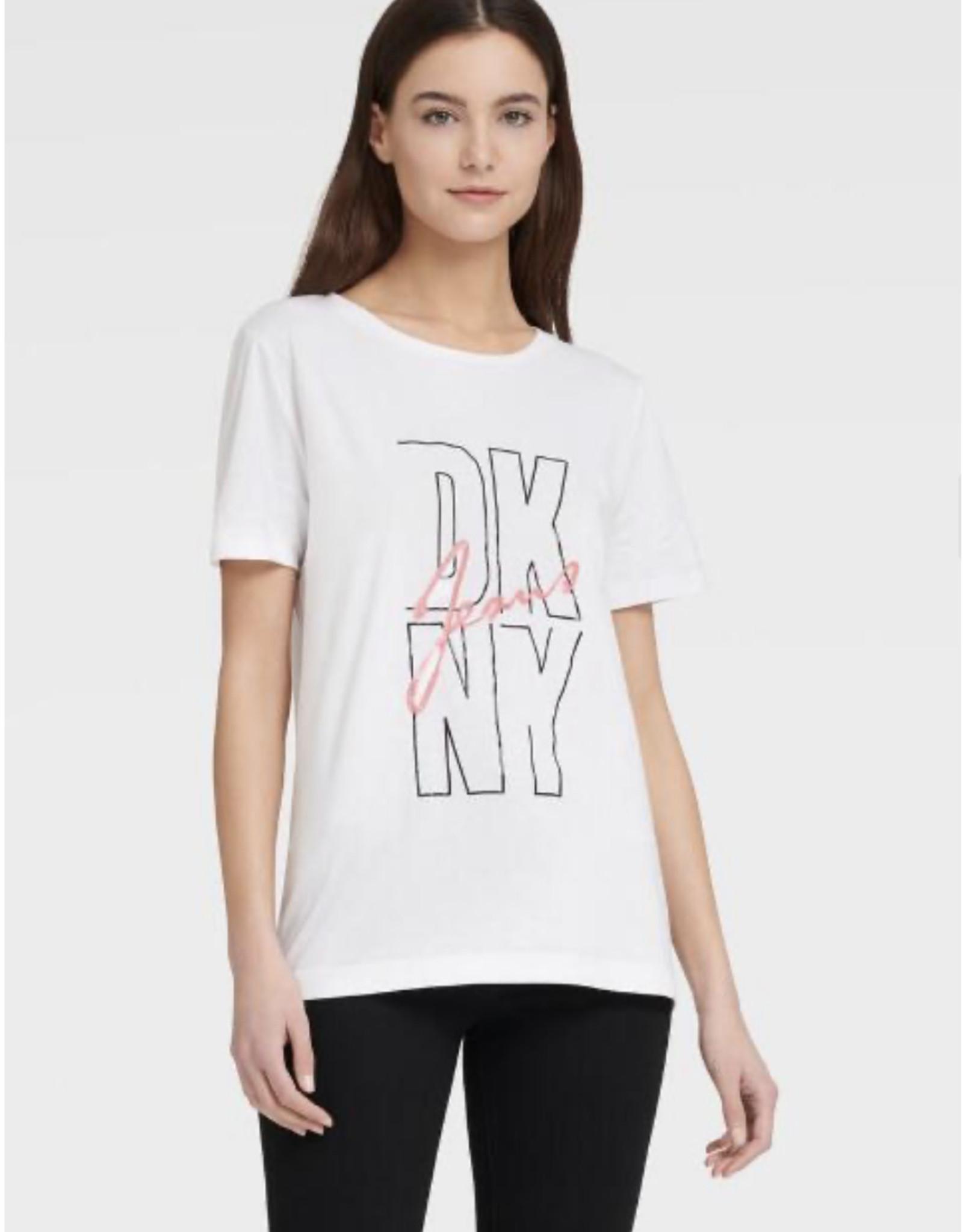 DKNY DKNY Tees with Sequined Logo