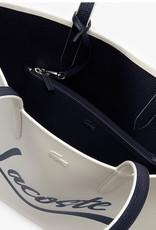 Lacoste Lacoste Tote Reversible Signature w/ Removable Pouch