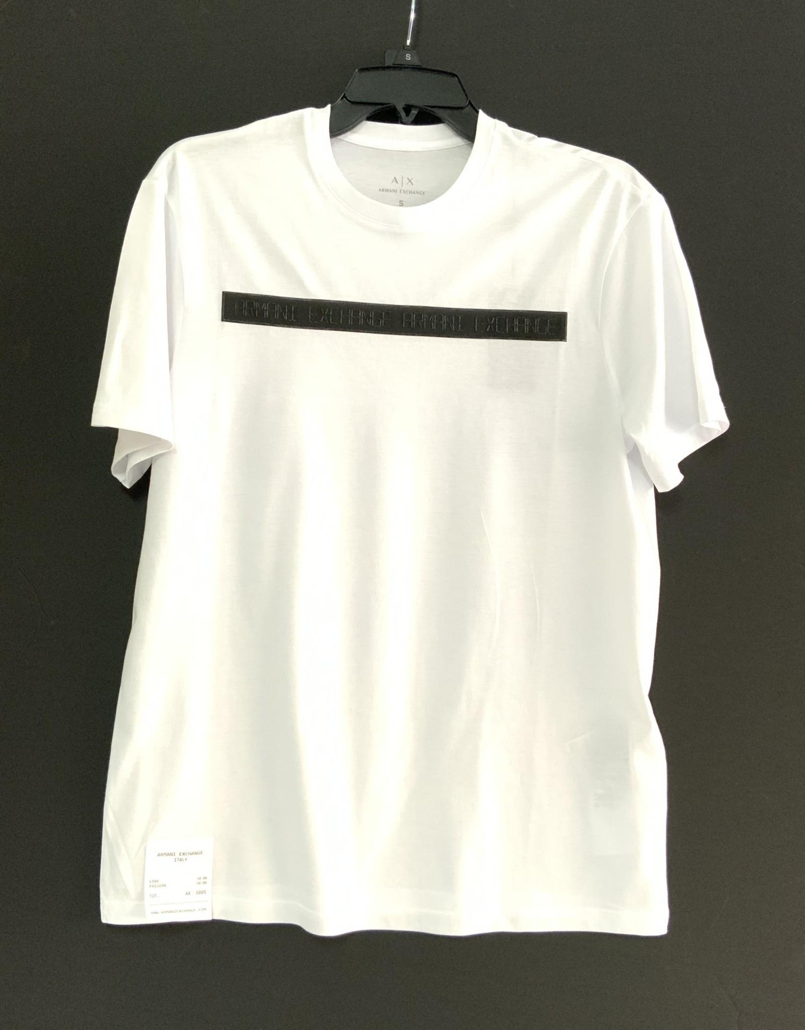 Armani Exchange Armani Exchange T-Shirt w/ Embossed Logo
