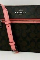 Coach Coach Gallery File Crossbody Bag in Signature Canvas