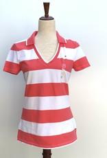 Tommy Hilfiger Tommy Hilfiger Polo Shirt V-Neck Stripe Daria