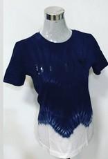 DKNY DKNY Sequin Logo Tie Dye T-Shirt