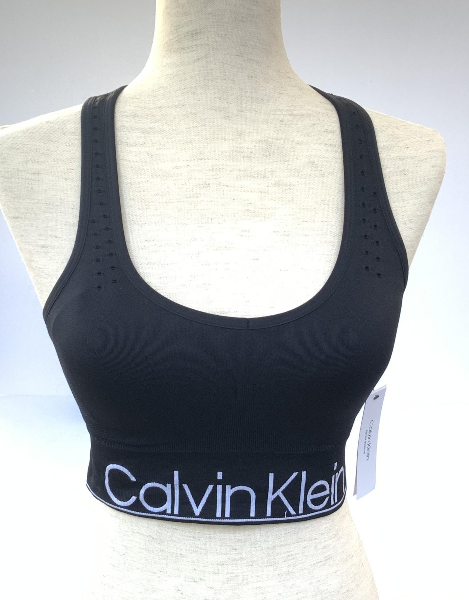 Calvin Klein Calvin Klein Performance  Mid-Impact Racerback Sports Bra