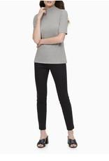 Calvin Klein Calvin Klein Mock Neck Short Sleeve Top