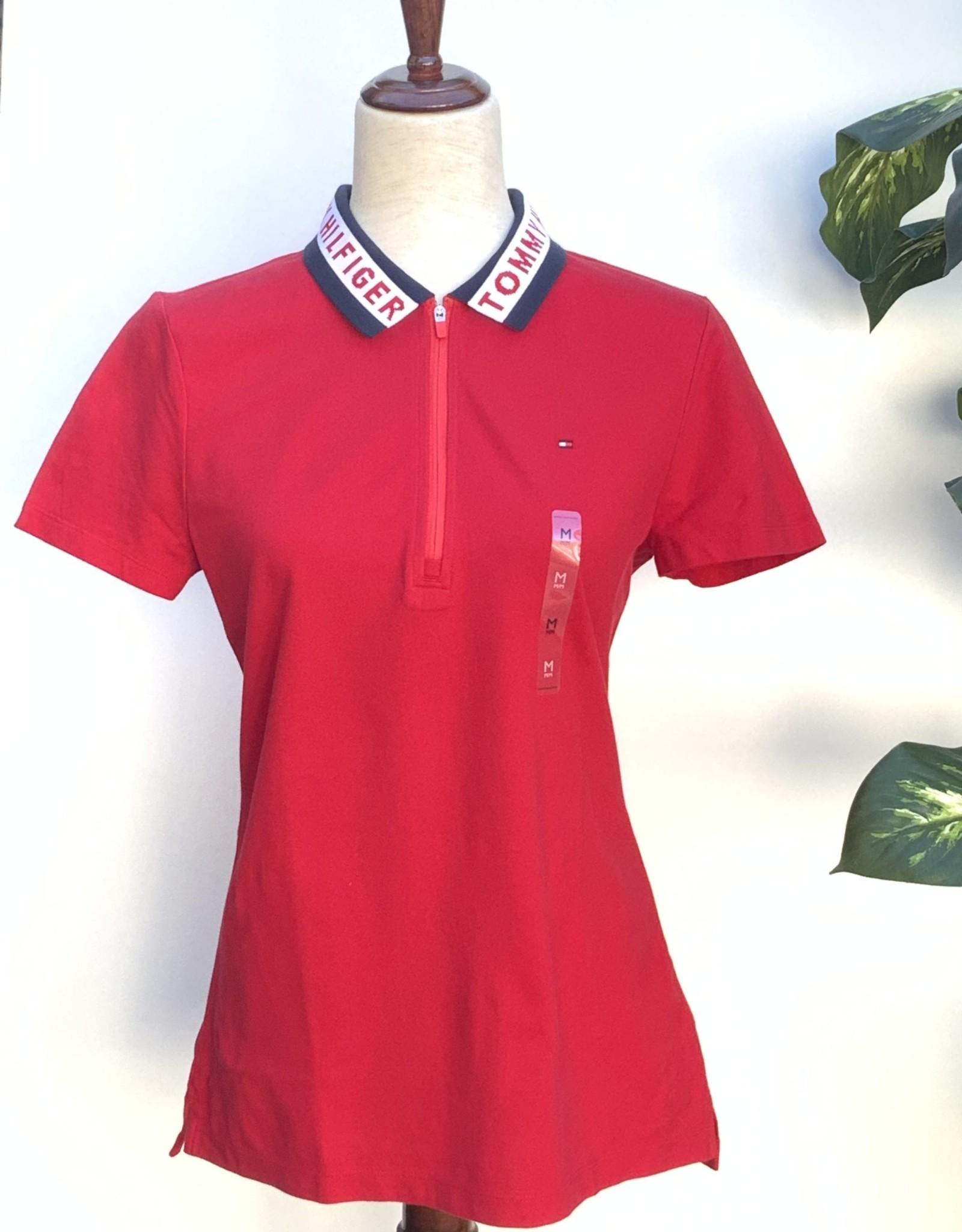 Tommy Hilfiger Tommy Hilfiger Polo Shirt Zip Brussle