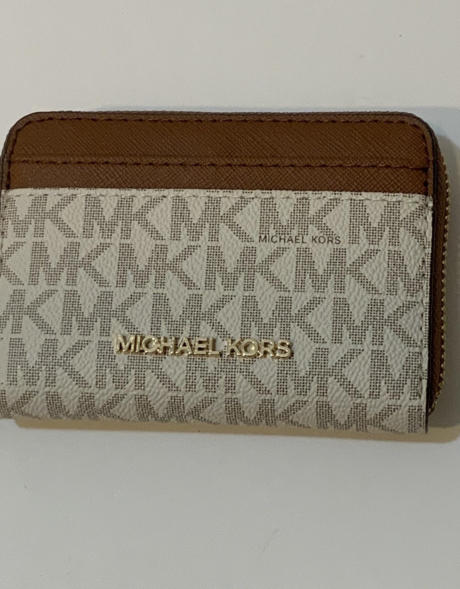 Michael Kors Michael Kors Card Case with Zip Jet Set Travel