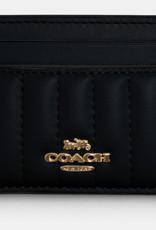 Coach Coach Card Case Linear Quilting