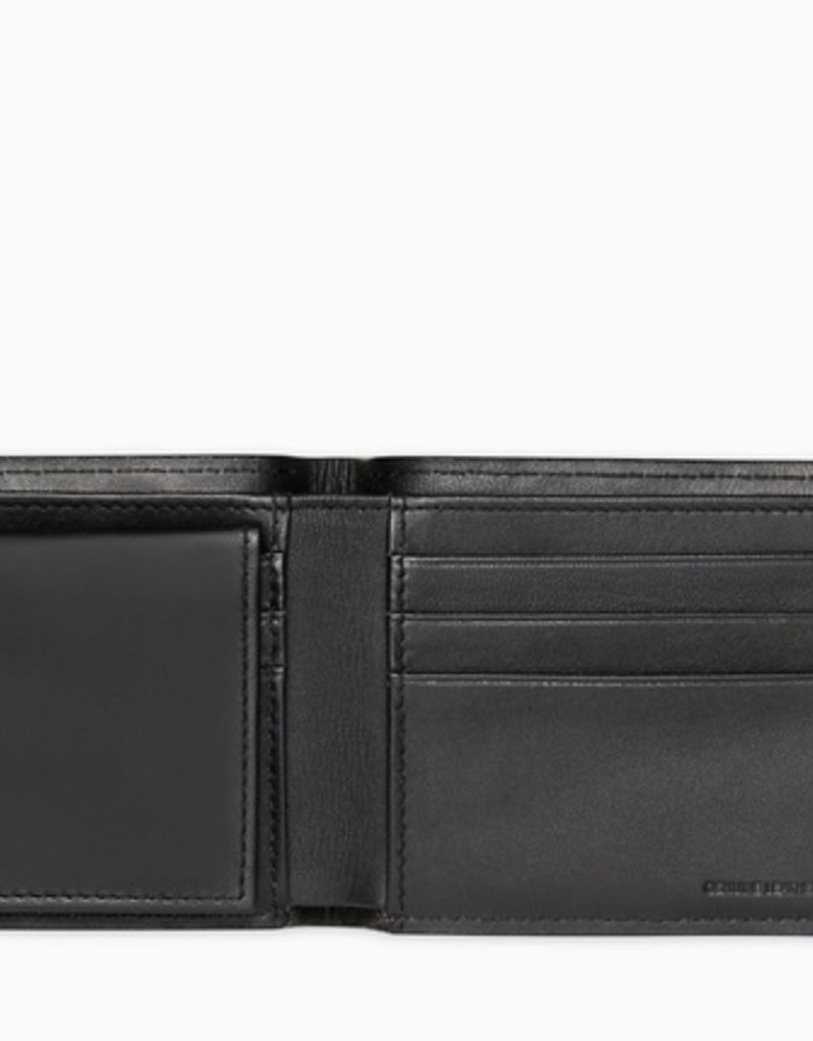 Calvin Klein Calvin Klein Billfold Wallet Embroidered Texture Logo