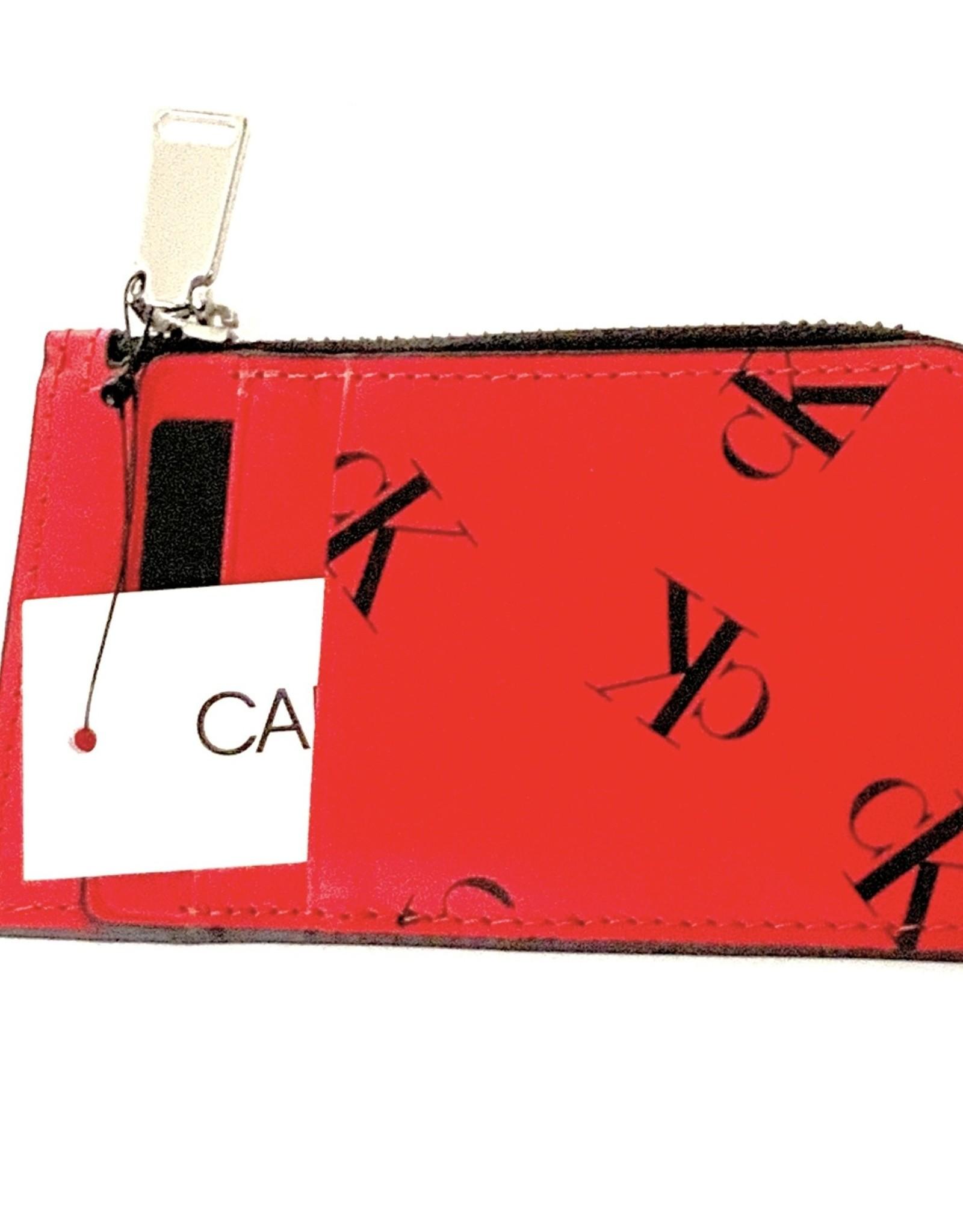 Calvin Klein Calvin Klein Card Case L-Zip Embossed