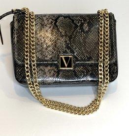 Victoria's Secret Victoria's Secret Python Shoulder Bag /Crossbody w/ Gold Chain Strap