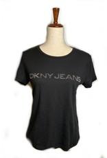 DKNY DKNY Tees Nailhead Heat Transfer Logo