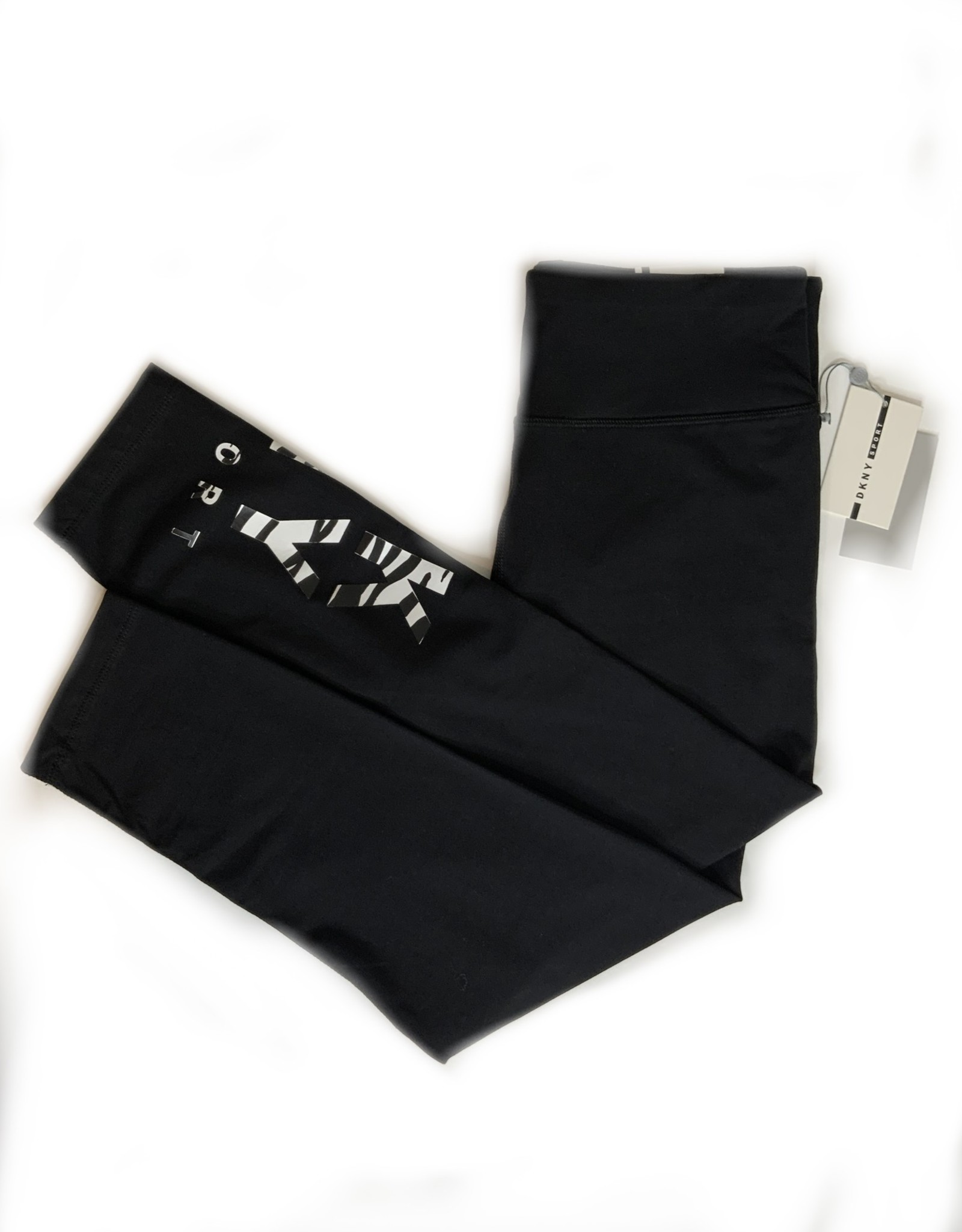 DKNY DKNY Leggings High Waist 7/8 Zebra Logo