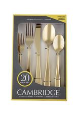 Cambridge Cambridge Byram Stainless Steel Flatware  20-Piece Set