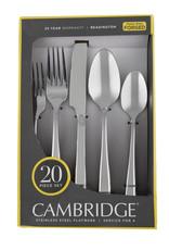 Cambridge Cambridge Readington Stainless Steel Flatware 20-Piece Set