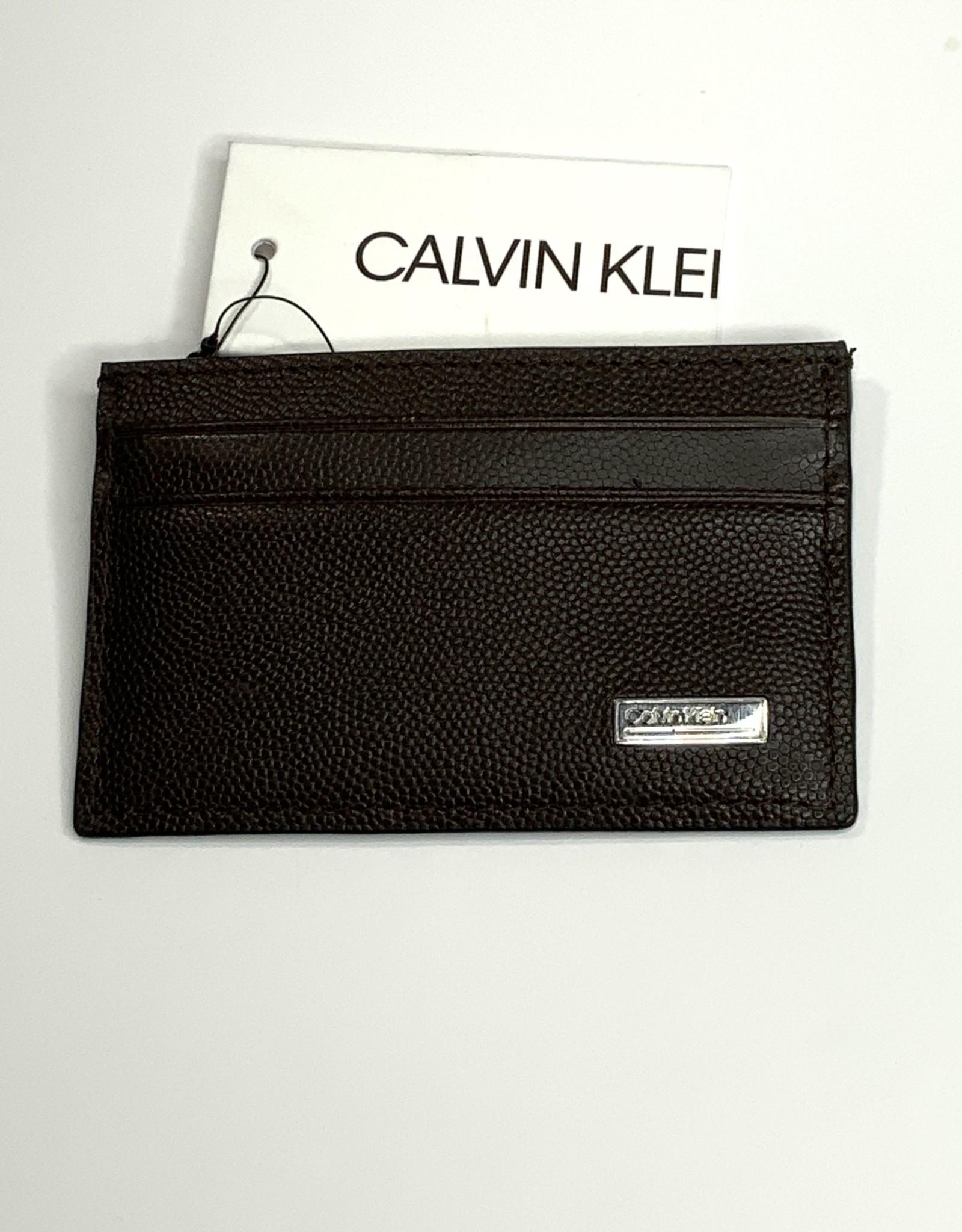 Calvin Klein Calvin Klein Card Case Caviar