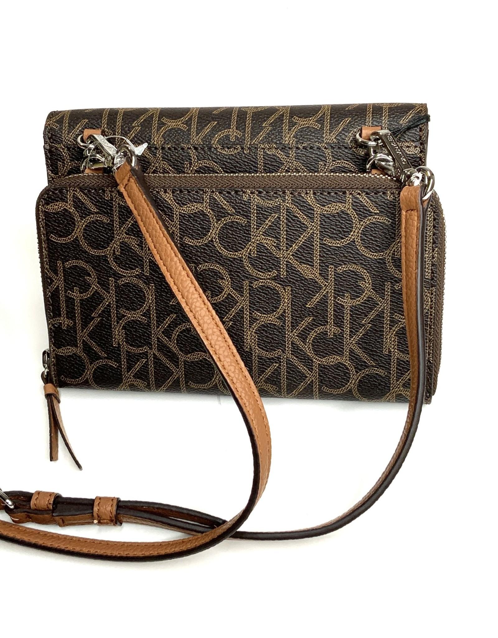 Calvin Klein Calvin Klein Monogram Logo Mini Crossbody Bag & Wallet
