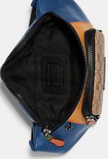 Coach Coach Track Belt Bag in Colorblock Signature Canvas