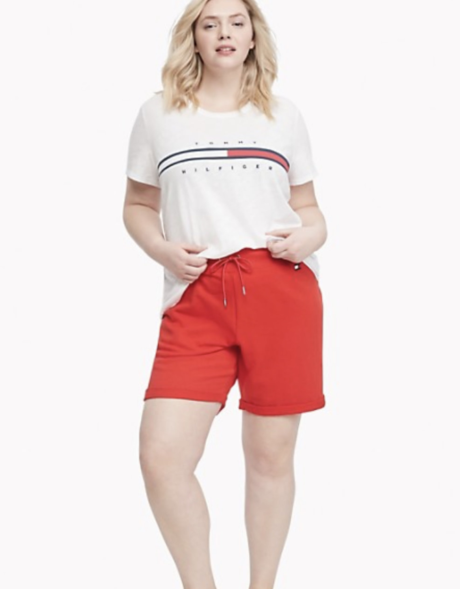 Tommy Hilfiger Tommy Hilfiger Logo Tee Tina Relaxed Fit