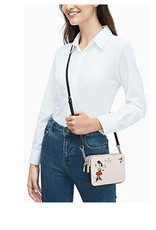 Kate Spade Kate Spade Minnie Mouse Double-Zip Small Crossbody